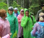 Коллектив ЭПК УрФУ посетил уникальный природный парк «Оленьи ручьи»