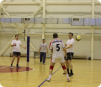 В преддверии 55 - летнего юбилея Экспериментально - производственного комбината УрФУ прошли товарищеские матчи по волейболу между подразделениями ЭПК в СКИВСе